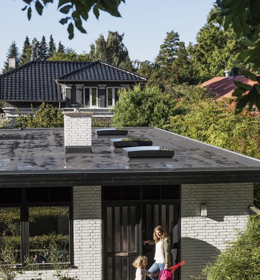 Finestre per tetti piani velux con vetro for Velux finestre tetti piani